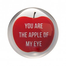apple of my eye paper weight