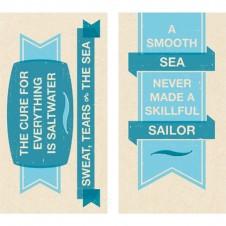 decorative sea quotes matches