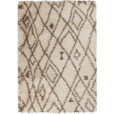 surya rhapsody area rug, beige, chocolate and taupe