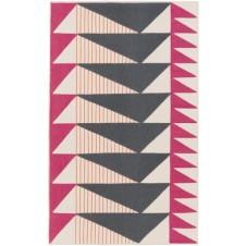surya renata area rug, pink