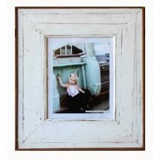 large plain white boatwood frame