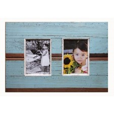 two photo simple boatwood frame