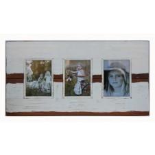 three photo simple boatwood frame