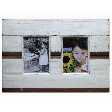 two photo boatwood frame