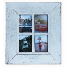 four photo plain boatwood frame