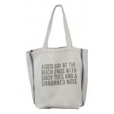 sandy toes beach bag