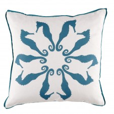 lacefield plasma flange seahorse pillow