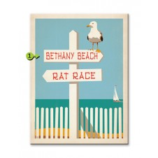 rat race customizable wood sign