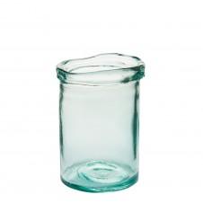 """cylinder vase 7.5"""" clear"""
