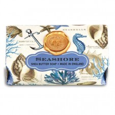 michel design works seashore large bath soap bar