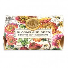 michel design works blooms & bees bath soap bar
