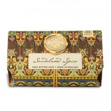 michel design works sandalwood spice bath soap bar