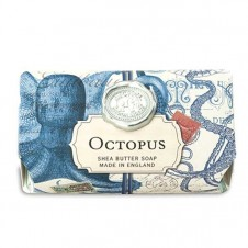 michel design works octopus bath soap bar