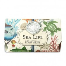 michel design works sea life bath soap bar