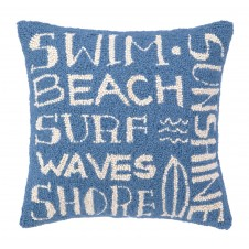 surfer's paradise hook pillow