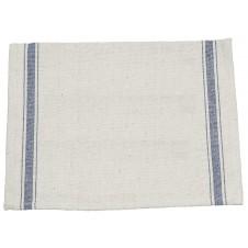 3 stripe blue tea towel