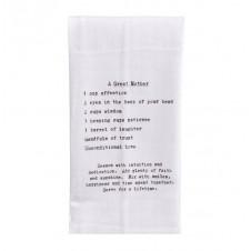 recipe, a great mother flour sack towel