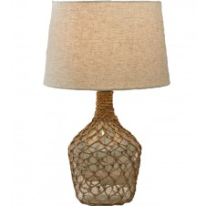 sea bottle jug lamp with shade