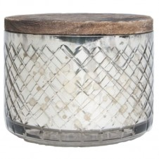 volcano mercury candle bowl with lid