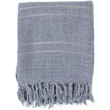 surya traveler denim throw blanket