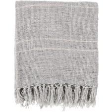surya traveler silver throw blanket