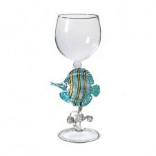 needlenose butterfly fish wine glass