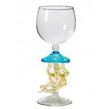 jellyfish wine glass