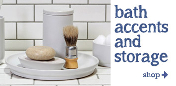 Shop Bath Accents and Accessories