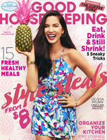 Tuvalu as seen in Good Housekeeping July 2015