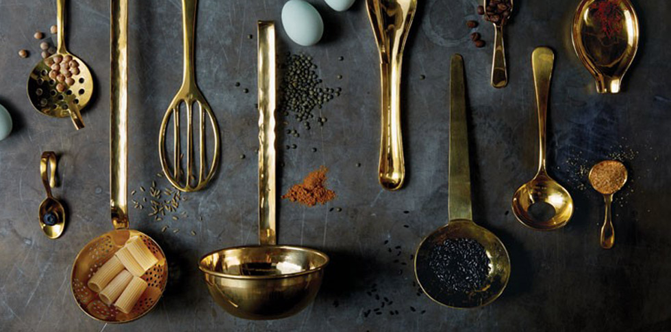 Stirring up style with kitchen utensils and accessories