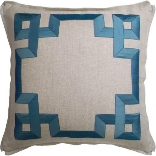 classic fretwork pillow