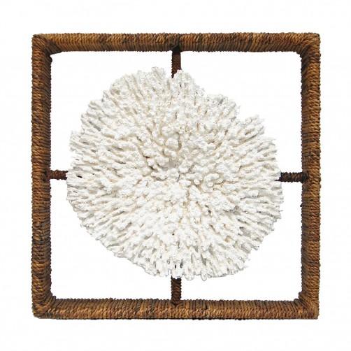 palecek plato coral shadow box