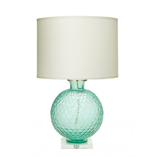 jamie young clark table lamp w/ large drum shade