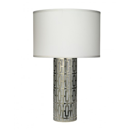 jamie young cypress table lamp w/ drum shade