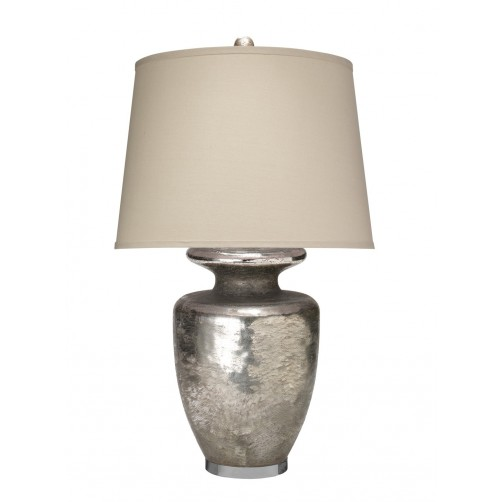 jamie young jardin table lamp w/ open drum shade