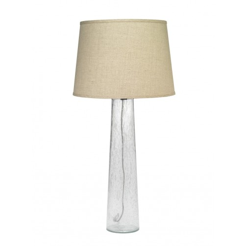 jamie young pillar table lamp w/ open cone shade