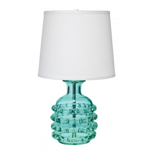 jamie young ribbon table lamp w/ tall cone shade