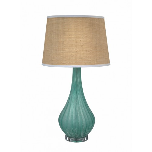 jamie young scavo table lamp w/ open cone shade