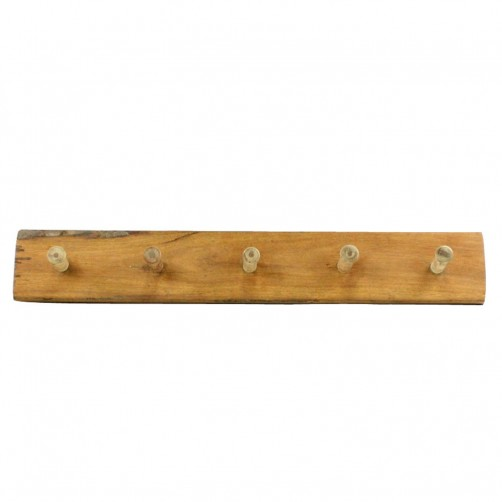 homart reclaimed wood peg rail