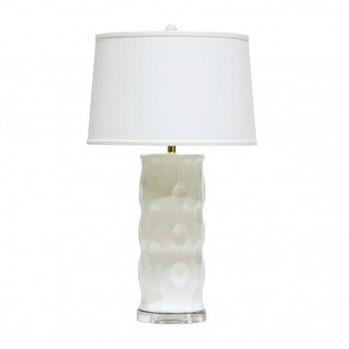 palecek hannah ceramic table lamp