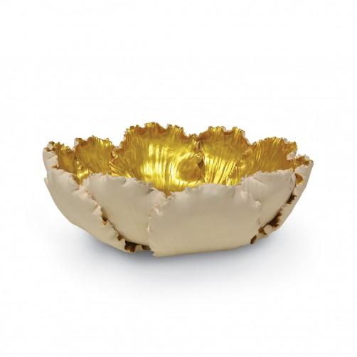 small ceramic tulip bowl