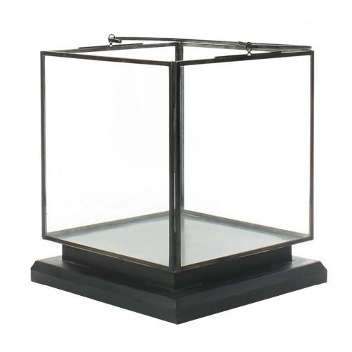 homart preston tin and glass vitrine medium