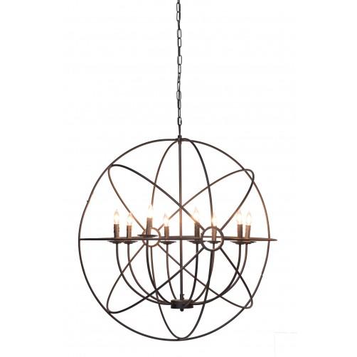 derince iron chandelier