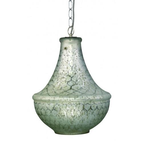 jamie young nimbus lattice glass chandelier