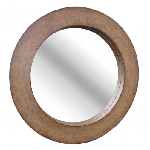 coconut shell mirror