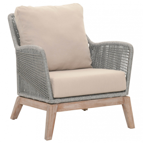 platinum rope loom club chair