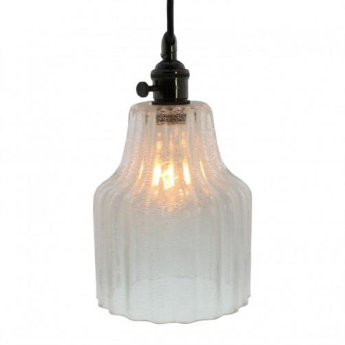 homart stina glass pendant light, small