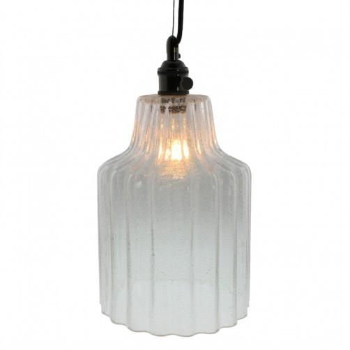 homart stina glass pendant light, large