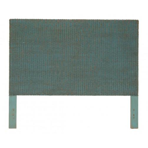 palecek woven wicker headboard
