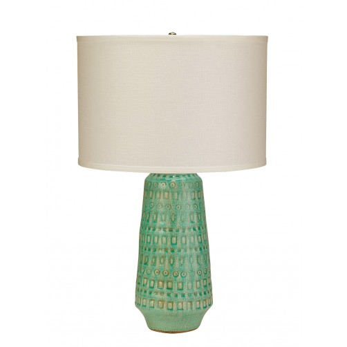 jamie young coco table lamp w/ drum shade